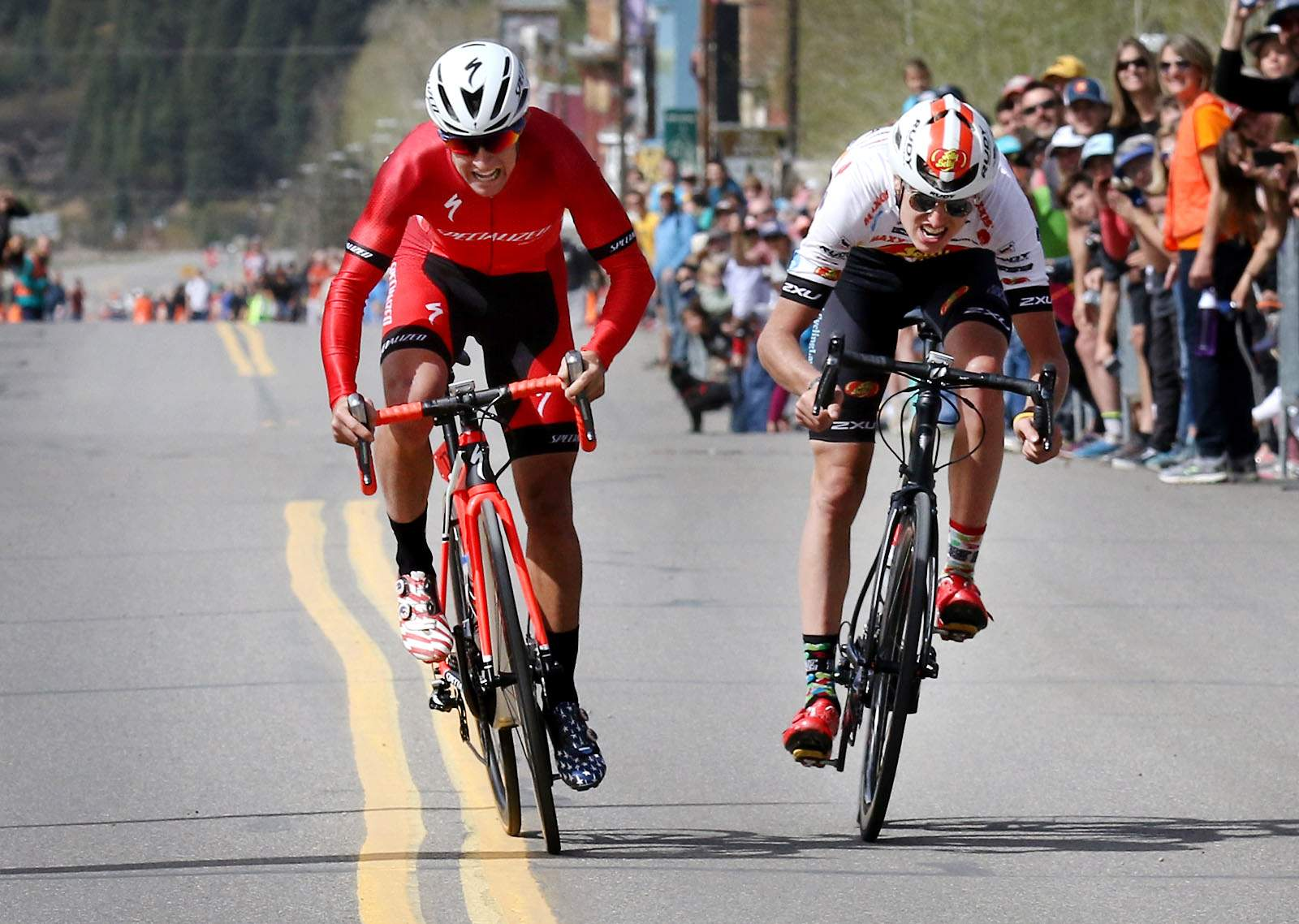 Howard Grotts wins his first Iron Horse Bicycle Classic in epic sprint finish
