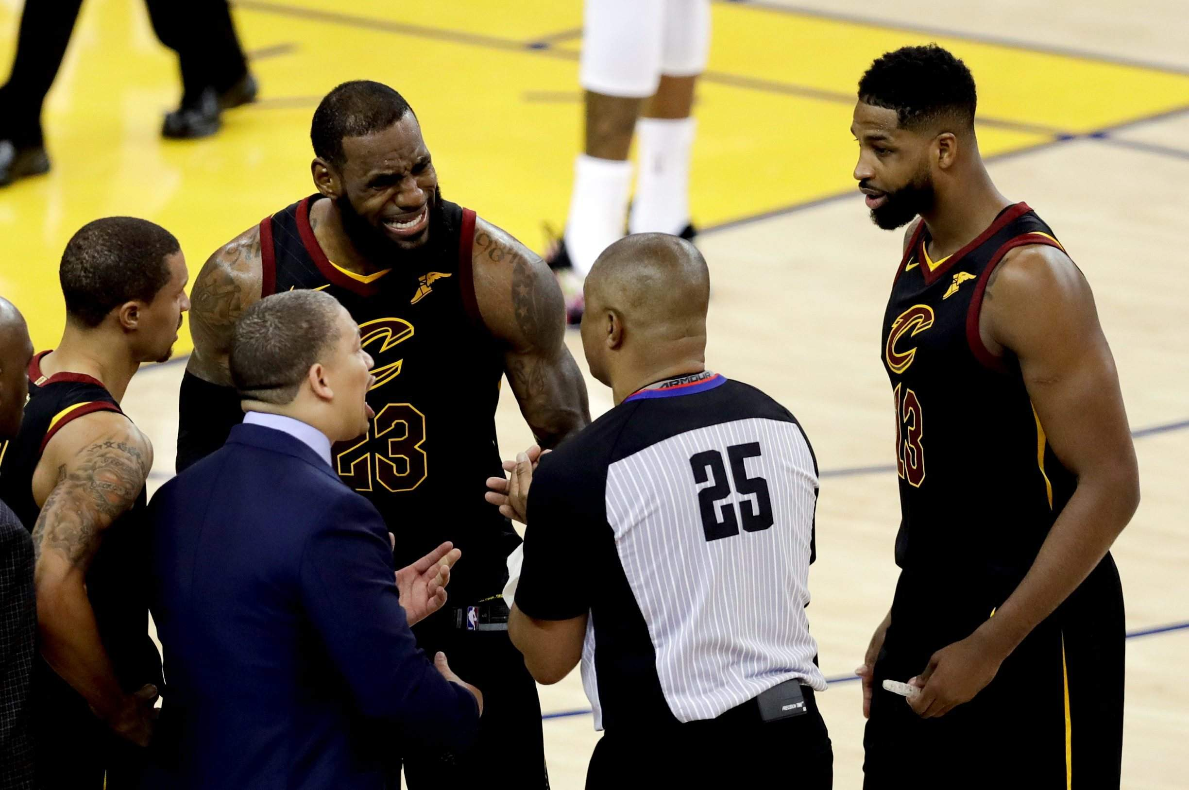 LeBron James foiled by JR Smith in Cavaliers  NBA Finals Game 1 loss ... 993a45090