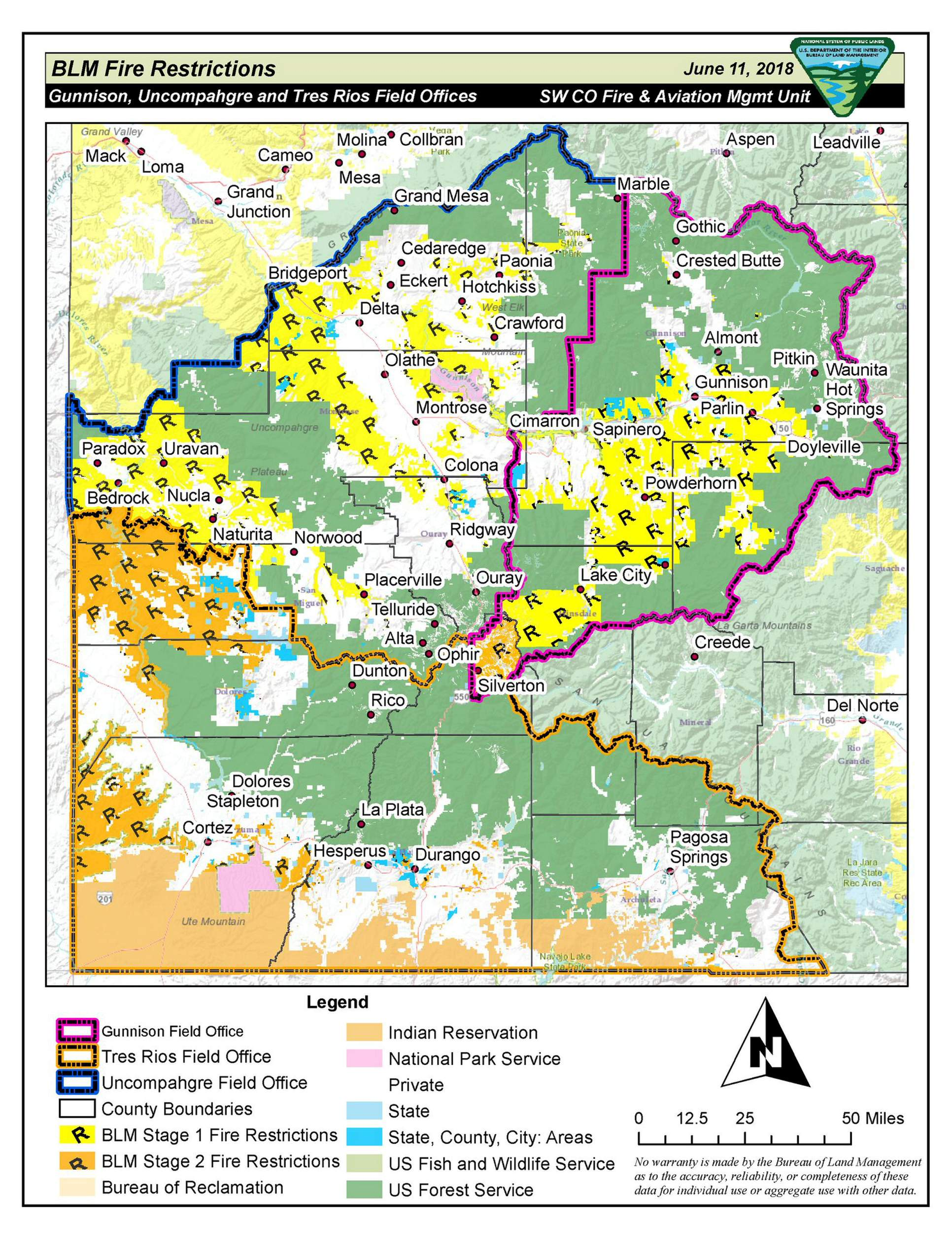 Forest Service to close San Juan National Forest for first ...