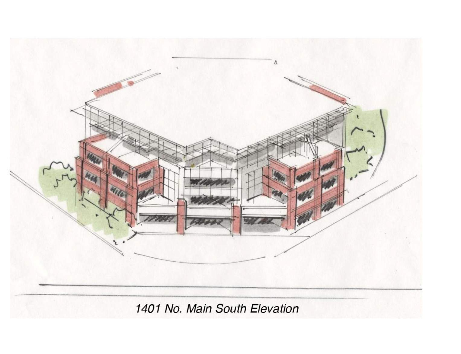 Four-story building planned for intersection of north Main Avenue ...
