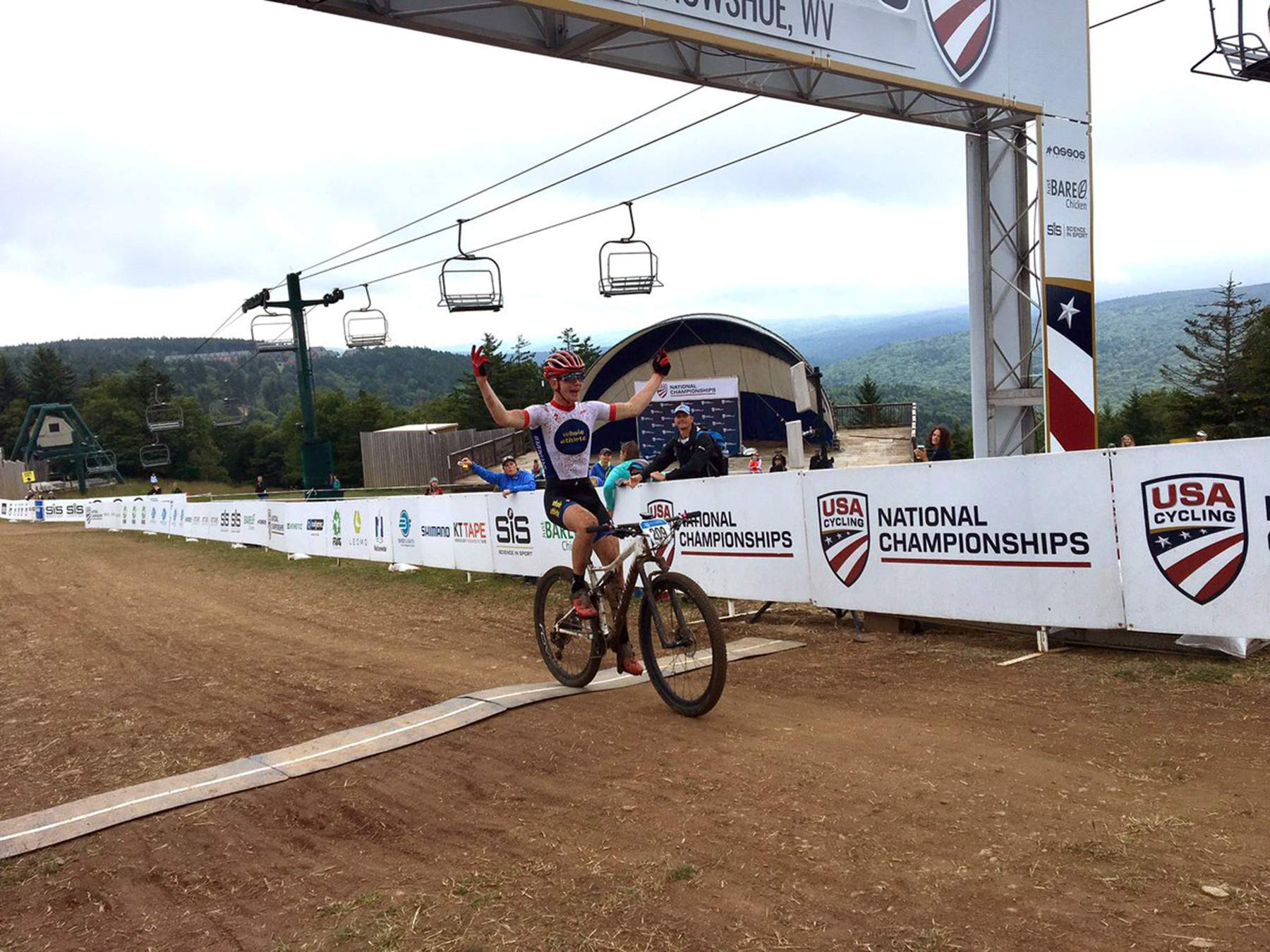 b9d89b647a Wins in the USA Cycling Mountain Bike National Championships cross-country  and short-track races this weekend gave Durango s Quinn Simmons a total of  four ...
