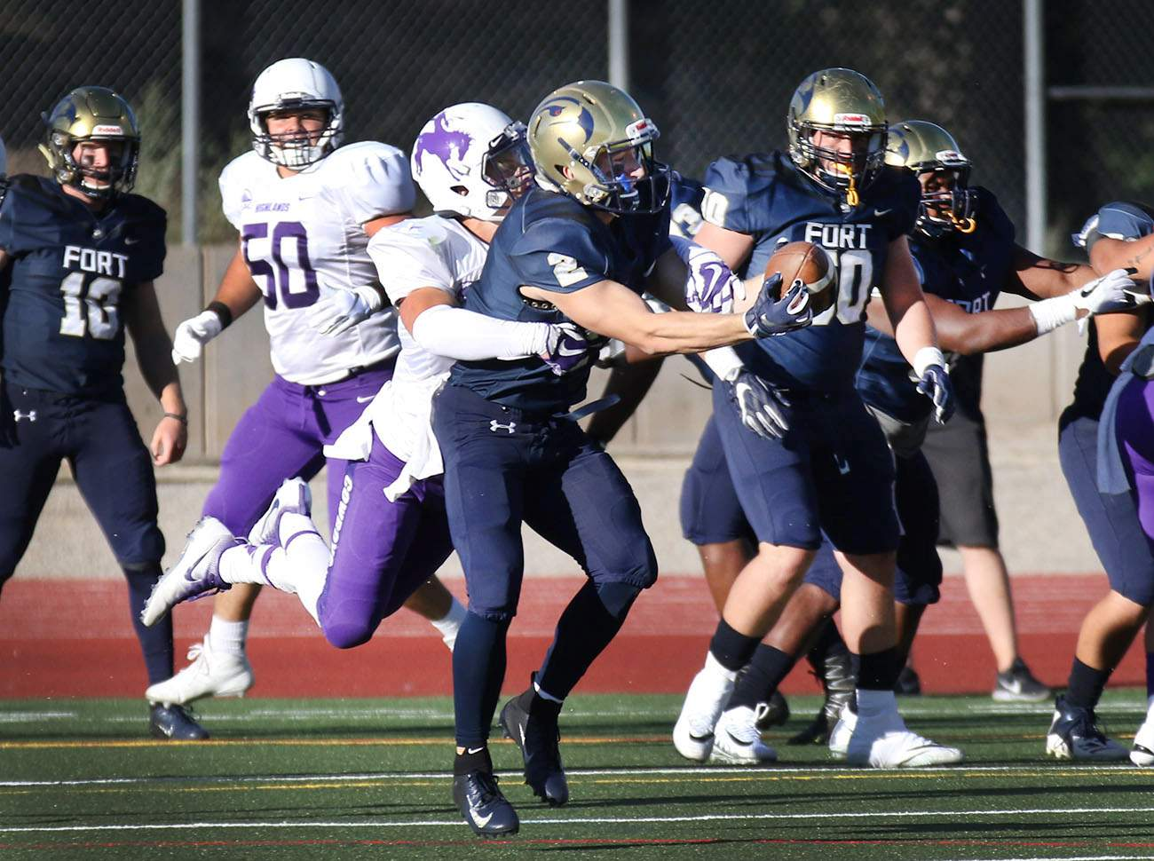 New Mexico Highlands >> Fort Lewis College Skyhawks Shot Down In Football Opener
