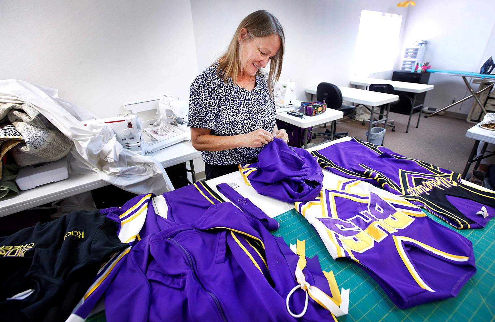 85d9cacd41 Ginger Domingos' daughter, Rachel, was a Bayfield High School cheerleader.  Since her daughter's death, Ginger has made teddy bears out of Rachel's  uniforms ...