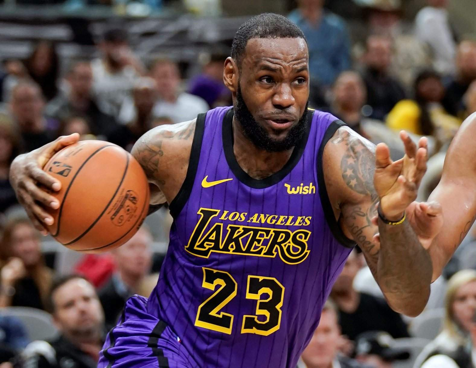 9c09986caa3 Los Angeles Lakers  LeBron James was named The Associated Press Male Athlete  of the Year on Thursday. His big year saw him reach another NBA Finals