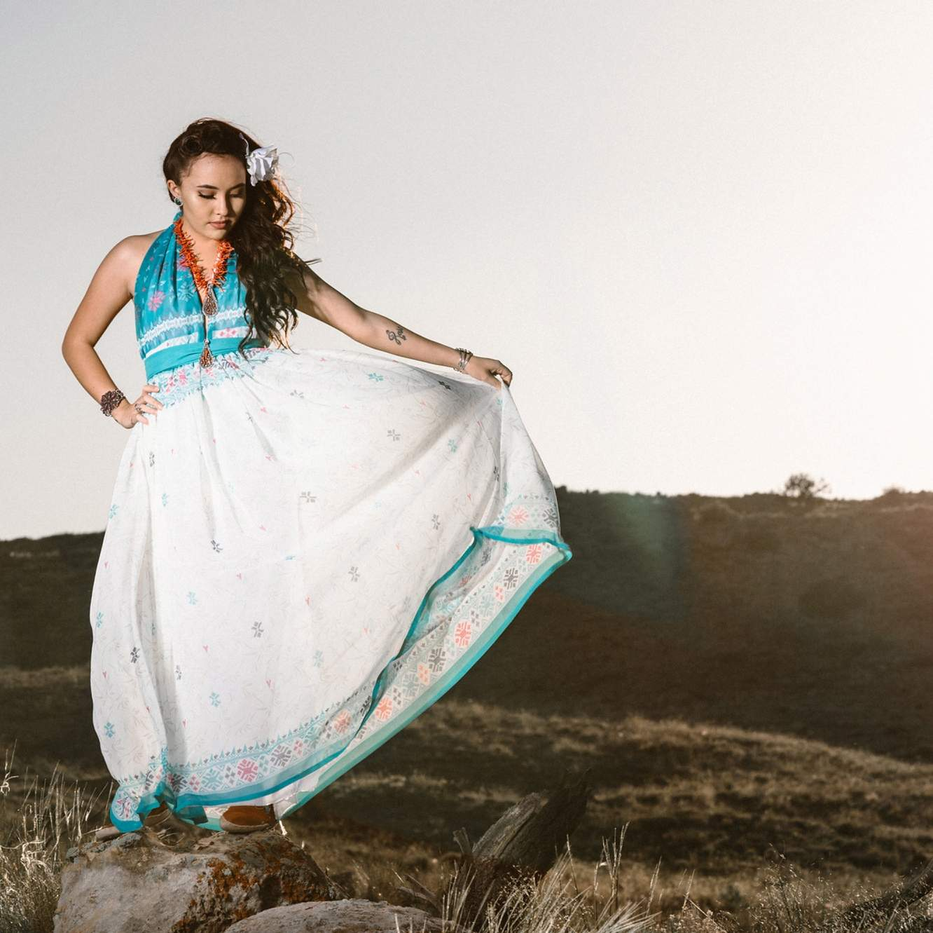 Navajo Fashion Designer Jolonzo Goldtooth To Show Collection In Paris