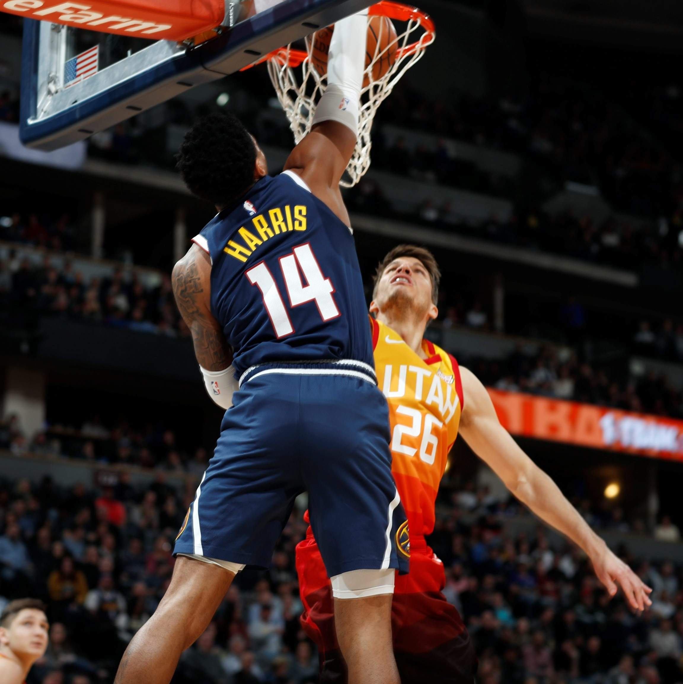check out a0783 93821 Donovan Mitchell, Kyle Korver lead Jazz past Nuggets