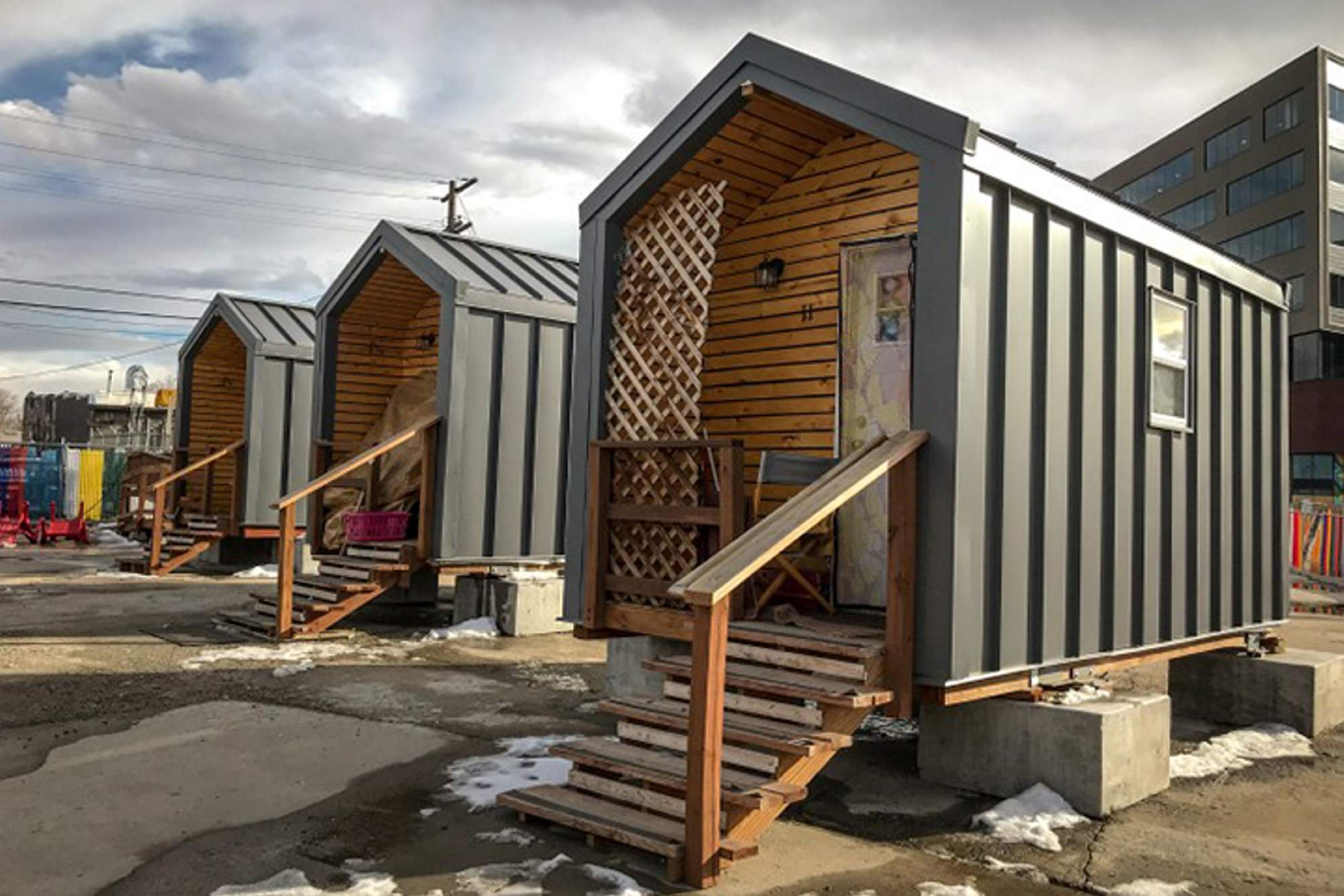 While Denver S Tiny Homes For The Homeless Help They May Not Be A
