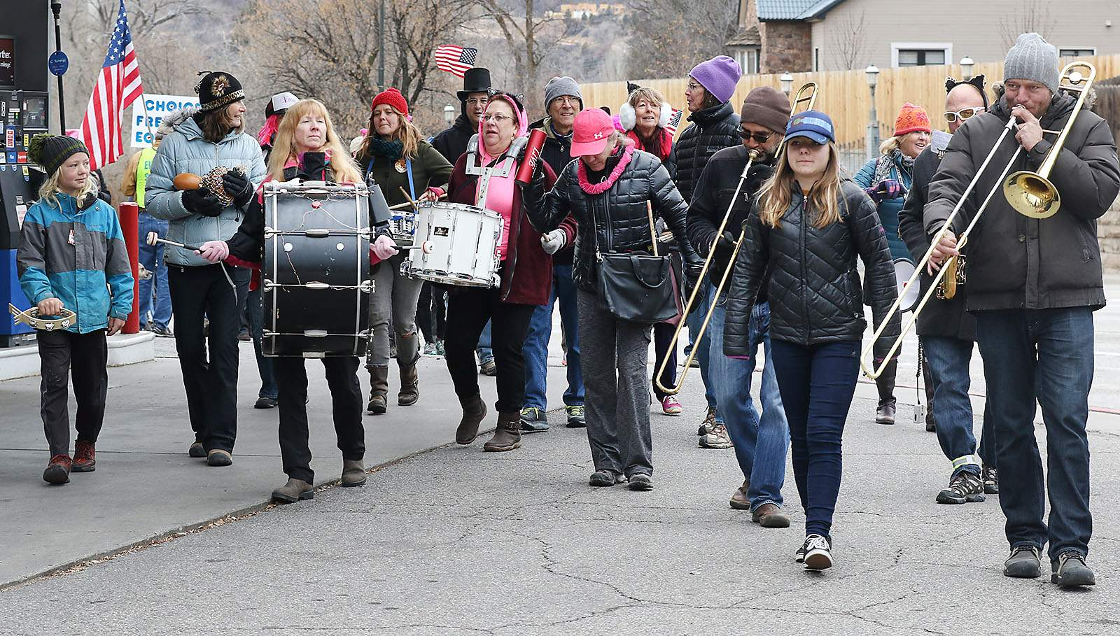 Durango Street Band brings music wherever it's needed