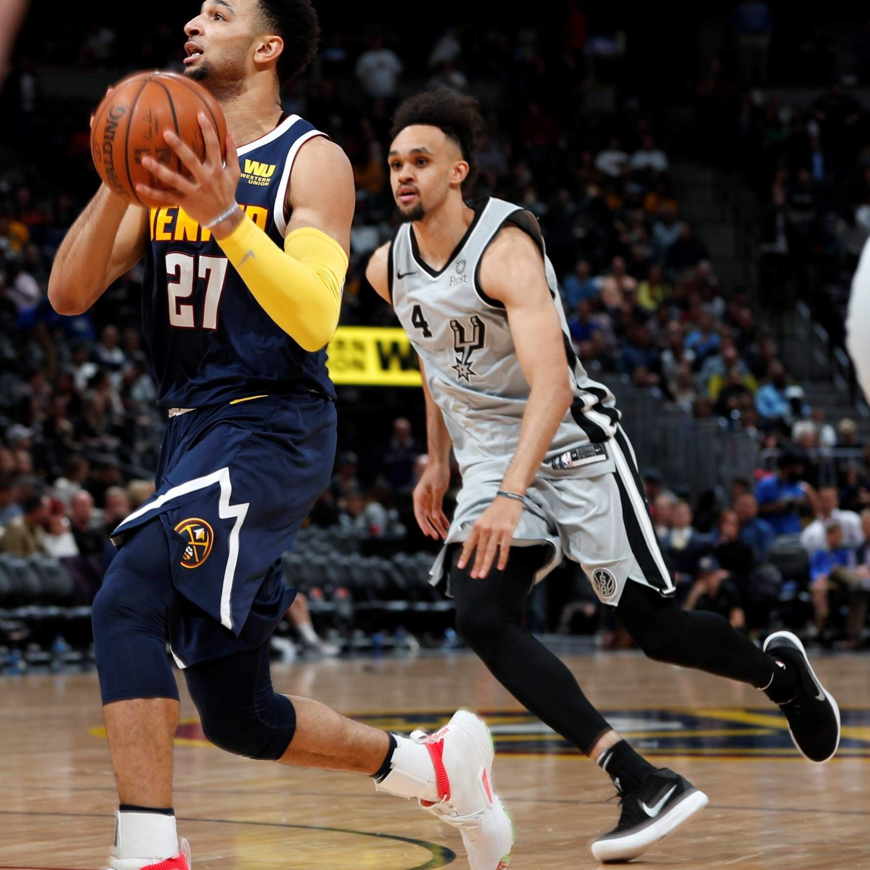 Nuggets Murray: Nuggets Rout Spurs; Popovich Ejected After 63 Seconds