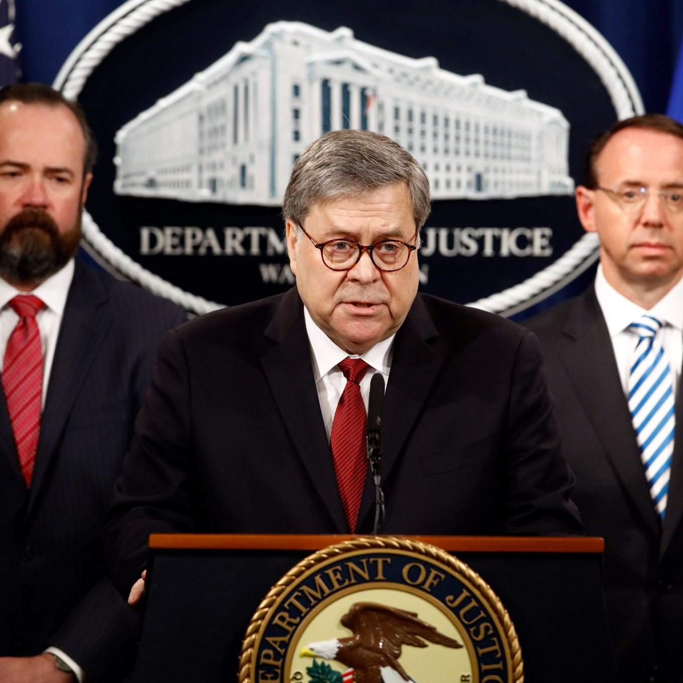 Attorney General Barr White House Offered Unfettered: Redacted Mueller Report Released