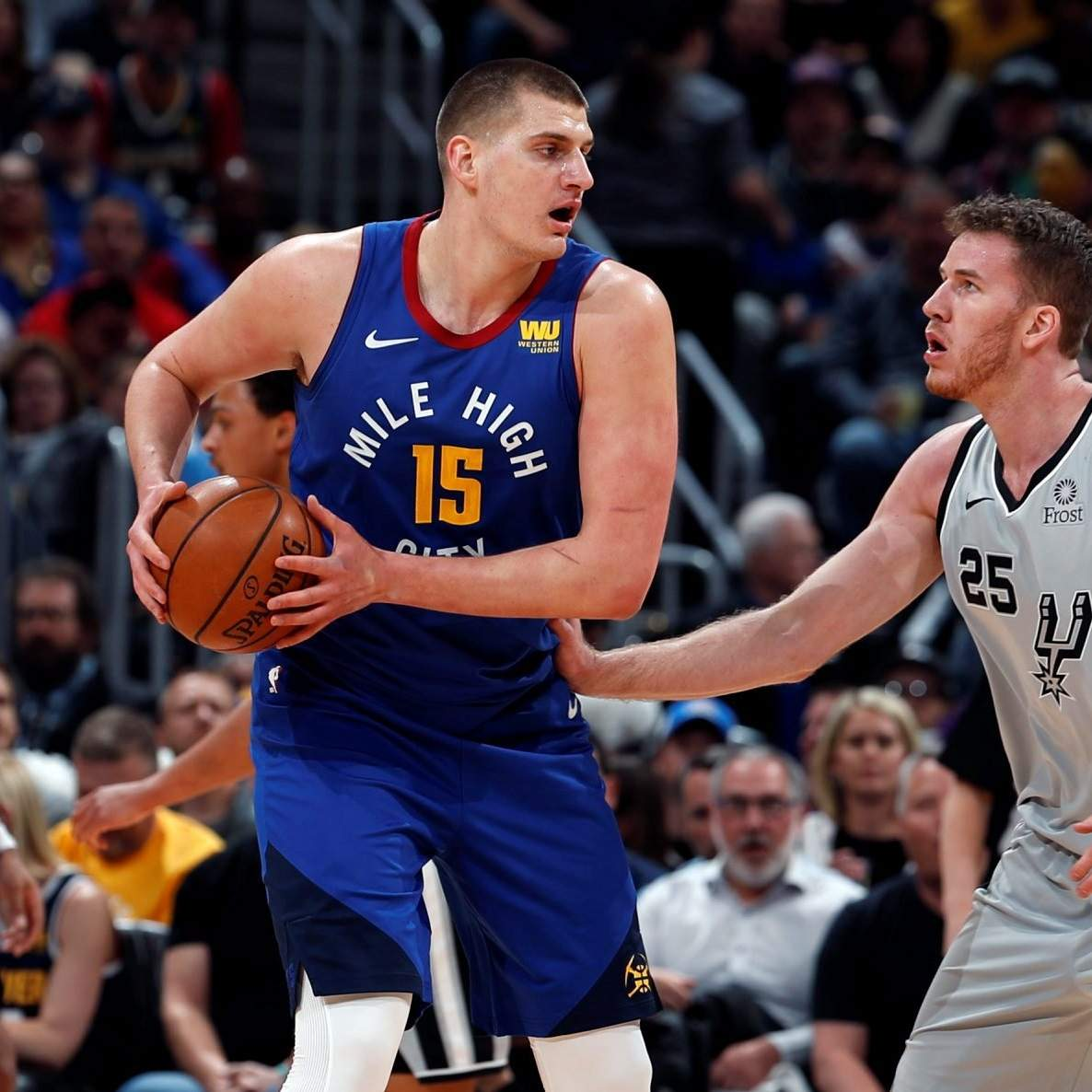 Nuggets Spurs Game: Nuggets Romp Spurs In Game 5