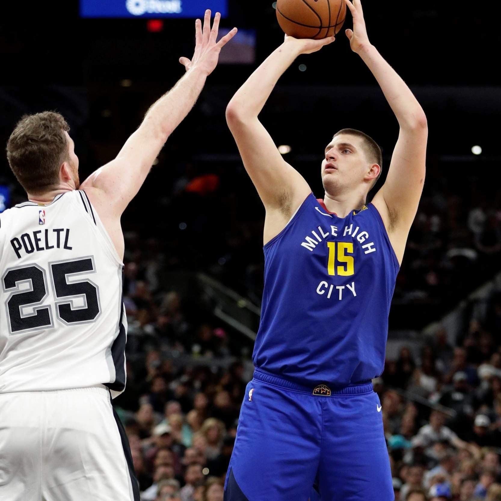 best authentic ad356 4b67b Spurs force Game 7, roll past Nuggets