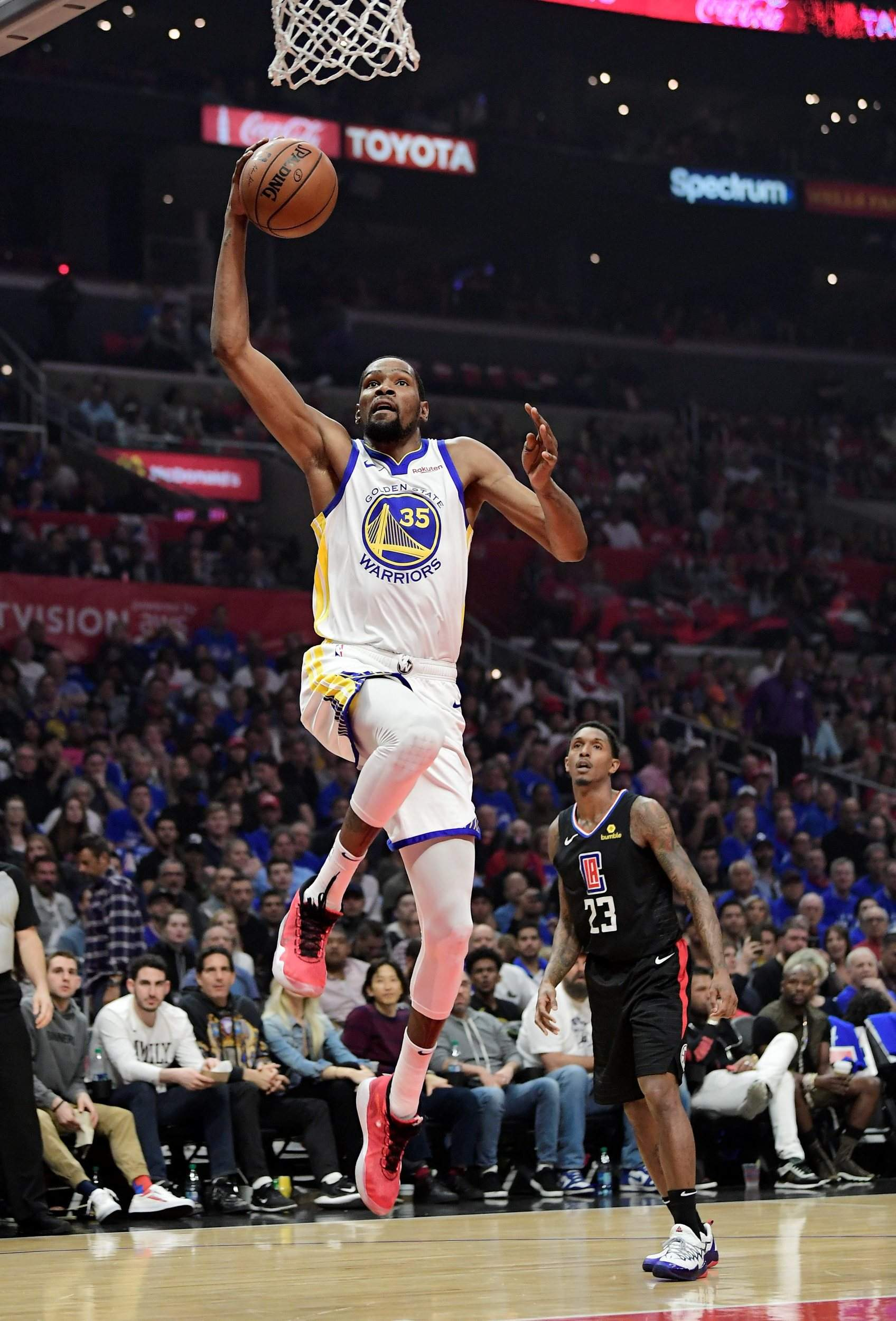 12b269e9a36e Kevin Durant scores 50 in Warriors series win over Clippers