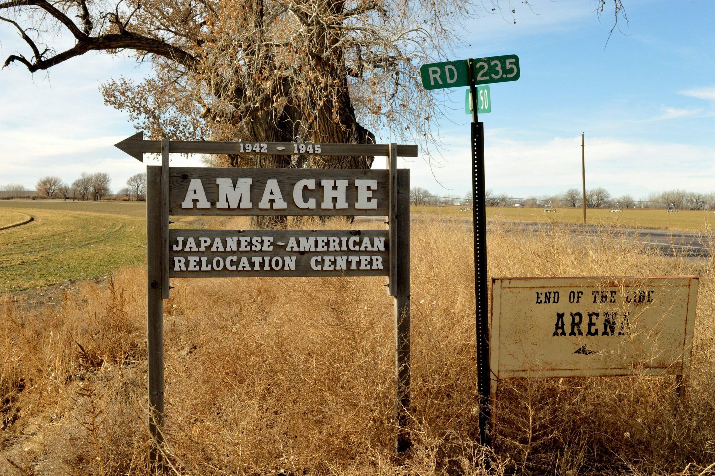 Drones Help Map Japanese Internment Camp In Eastern Colorado - Map-of-japanese-internment-camps-in-us