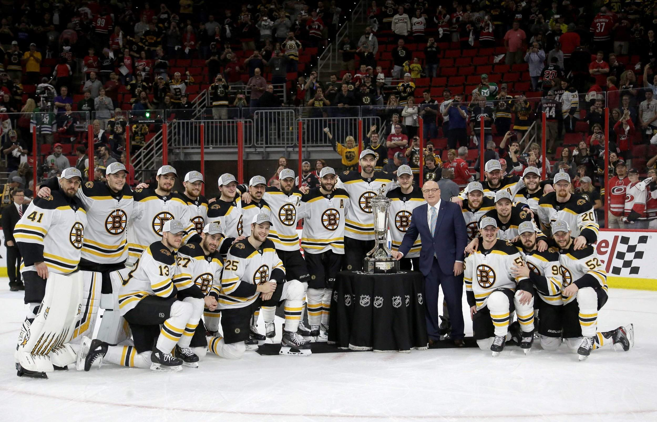 Bruins Sweep Hurricanes In Eastern Conference Final