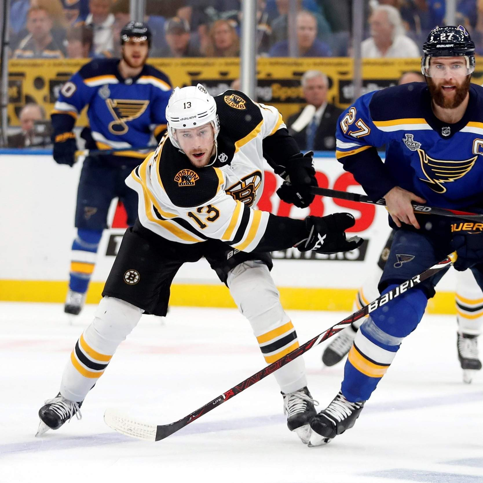 Gloria! Blues Beat Boston, Knot Stanley Cup At 2-all