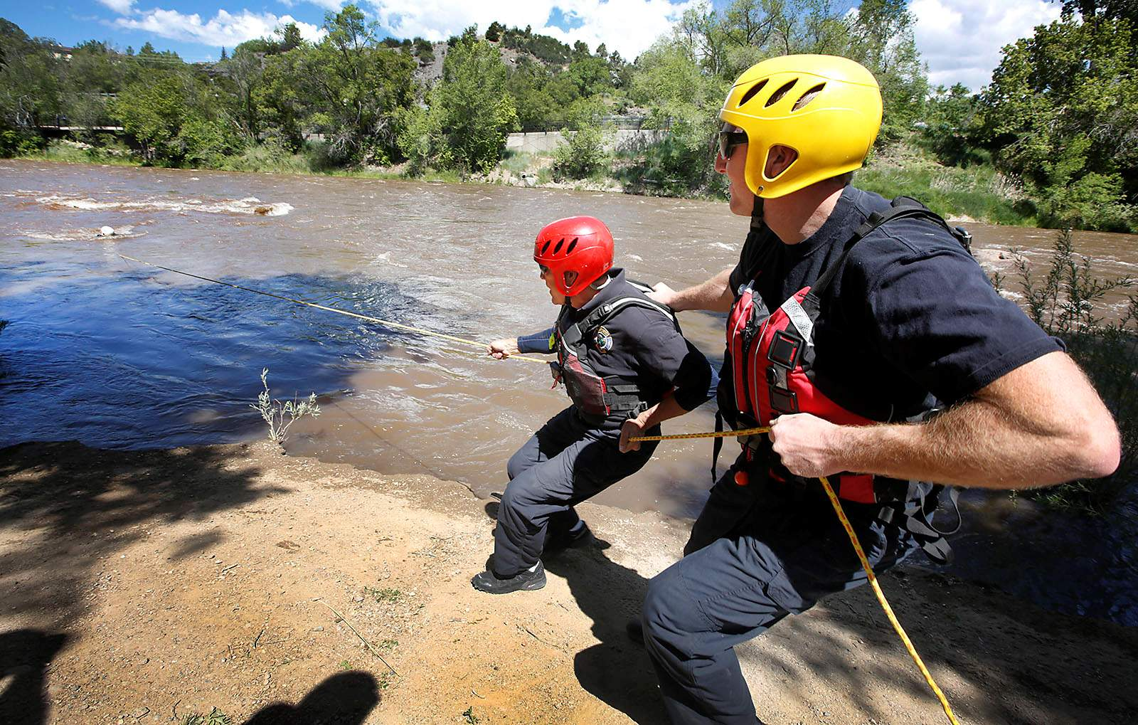 Swiftwater rescue team enters its busy season