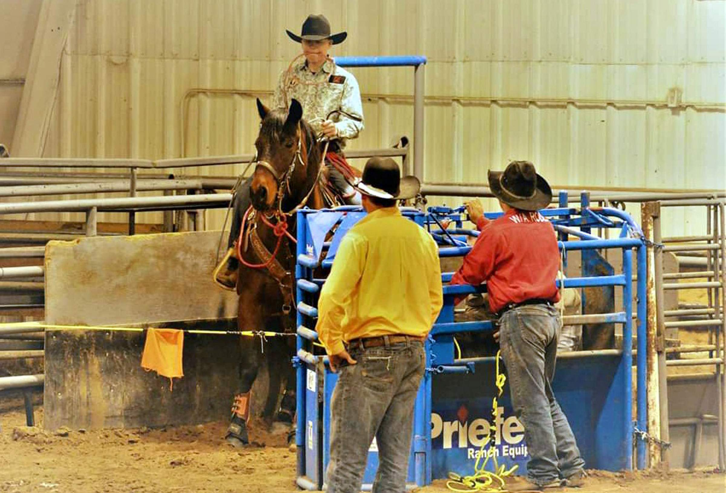 Ignacio S Teagan Roukema Gears Up For Junior Rodeo Nationals
