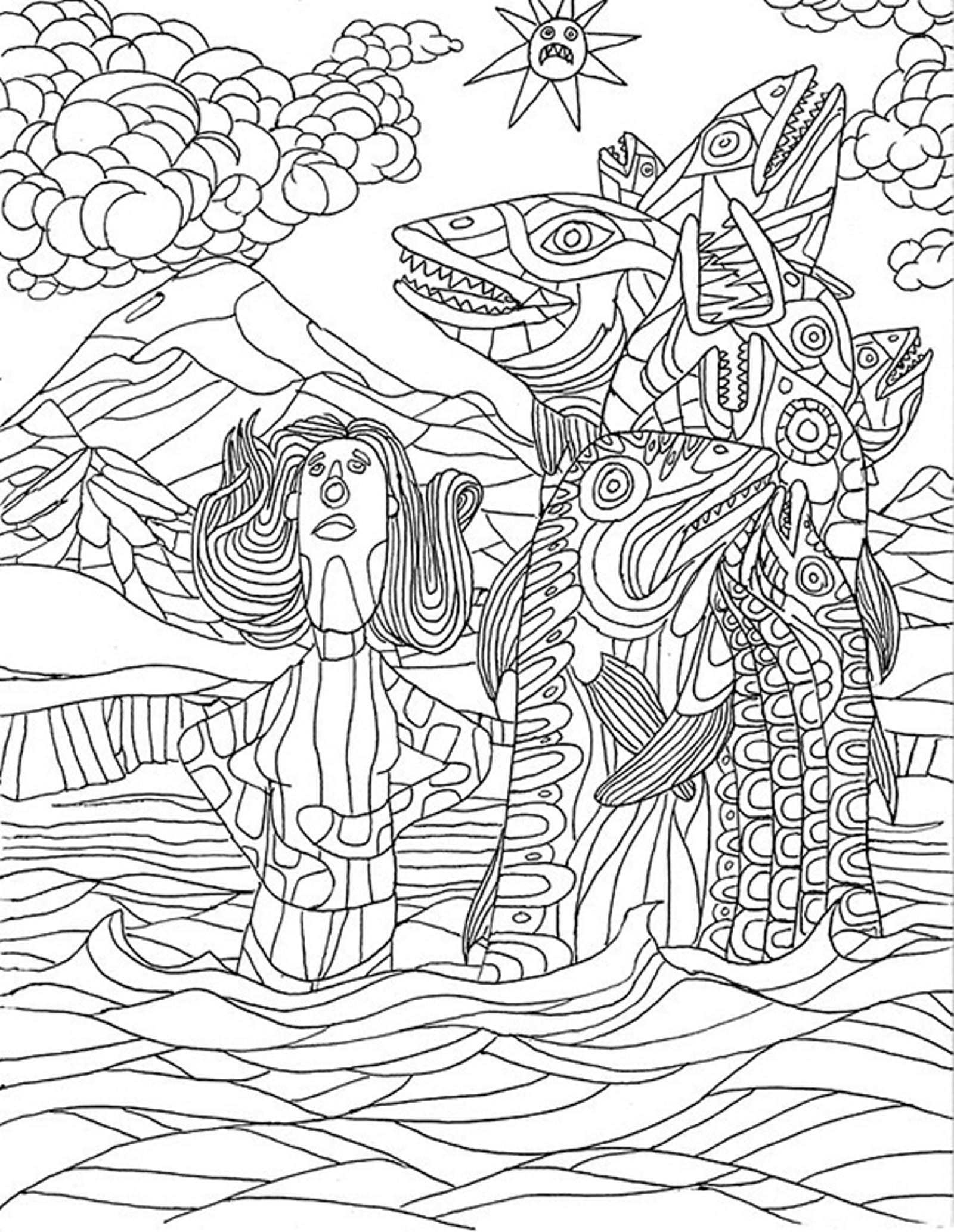 - Local Artist Offers Coloring Pages To Download