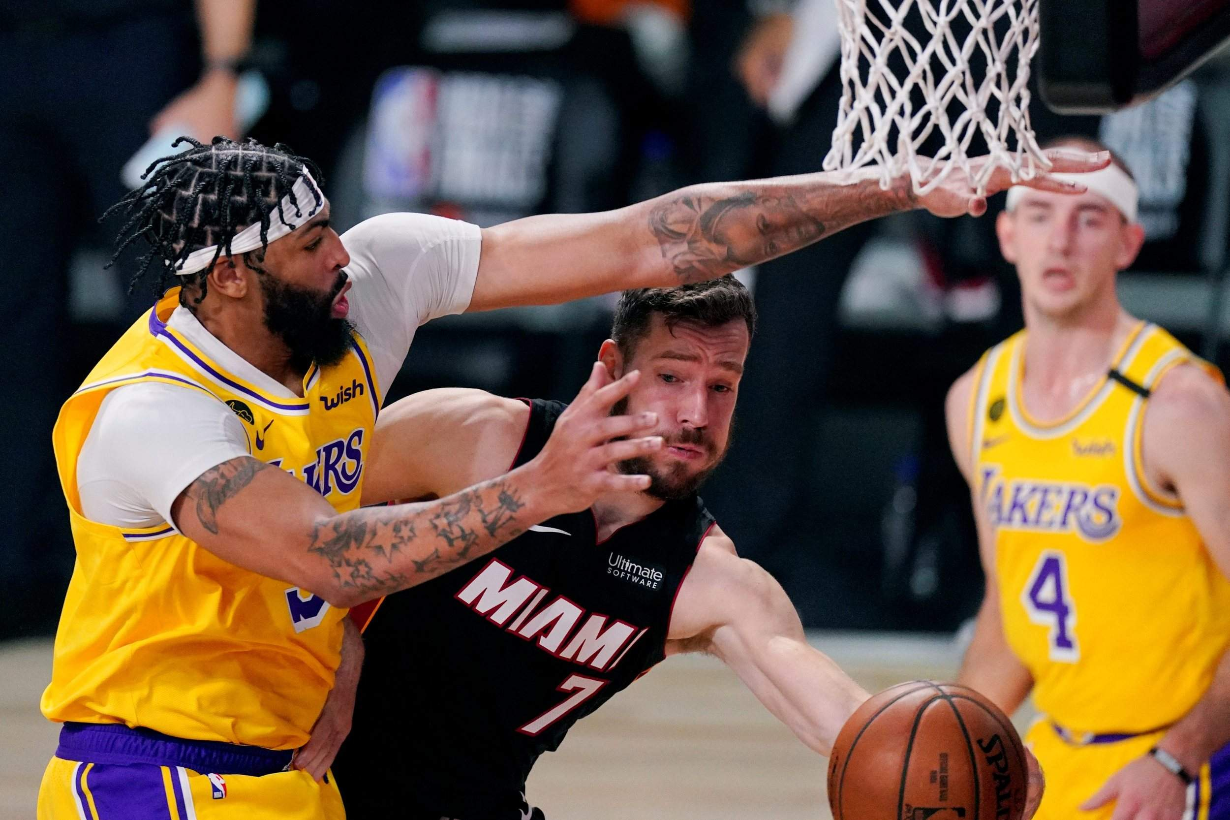 Heat Are Ailing Insist Nba Finals Vs Lakers Aren T Over