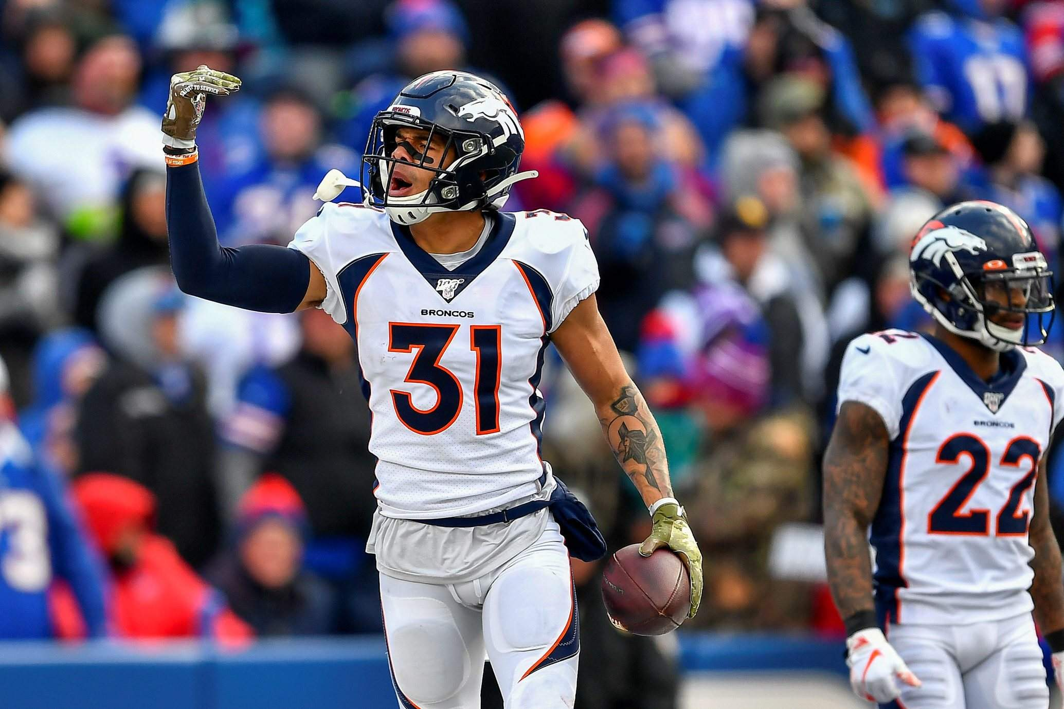 Broncos franchise tag superstar safety Justin Simmons