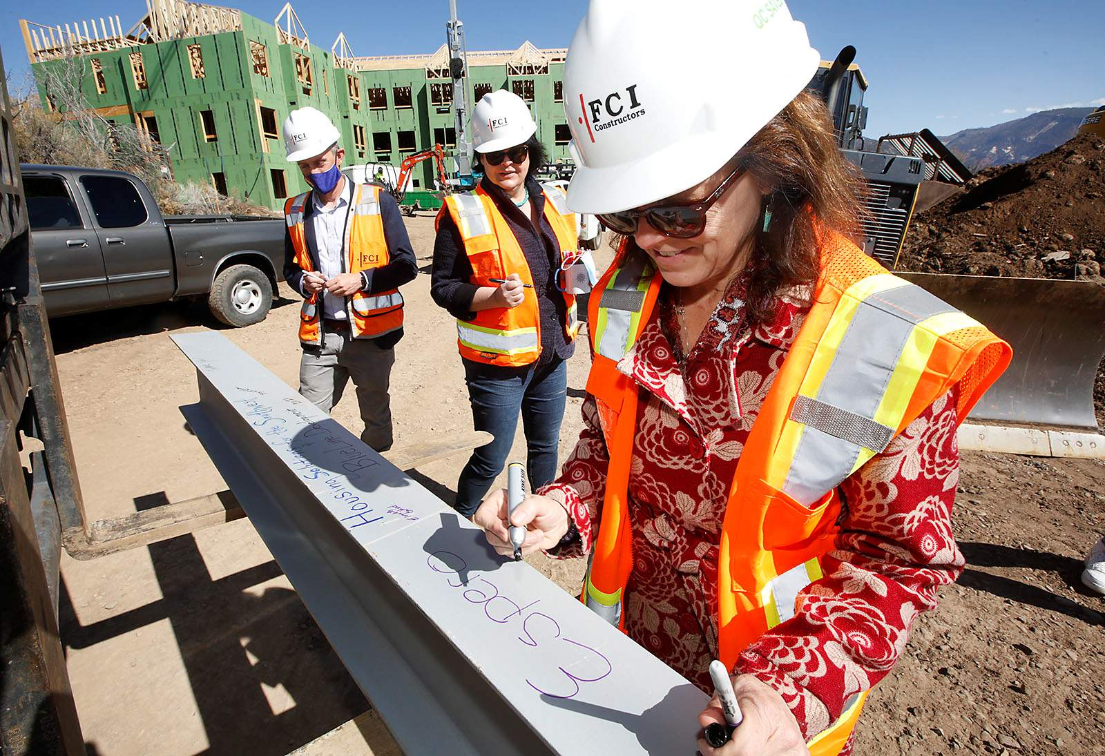 40 low-rent units take shape overlooking downtown Durango